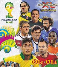 Panini Adrenalyn XL 2014 FIFA World Cup Brazil Limited Ronaldo Robben Vidal