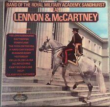 LP BEATLES LENNON McCARTNEY PLAYED BY BAND OF ROYAL MILITARY ACADEMY HALLMARK EX