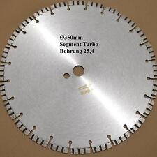 230 300 350 mm Diamant-Trennscheibe Diamantscheibe 11mm TURBO LASER geschweißt
