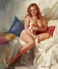 Vintage Pin-Up Nude Portrait Elvgren PINUP288 Print Poster A4 A3 A2 A1