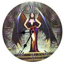 Lisa Parker WALL CLOCK, Fantasy/Goth/Cat in 5 Designs