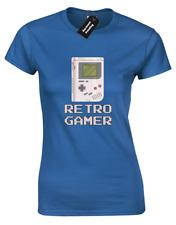 Retro gamer juegos señoras Camiseta divertido Nintendo PS4 Xbox Gameboy Cool (Color)