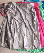 Long Dance Wrap Skirt, AGE 9-11, Girls SHINY Nylon Lycra Crossover Ballet