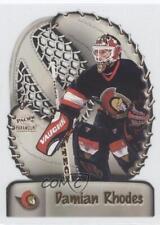 1998-99 Pacific Paramount Glove Side Laser Cuts 13 Damian Rhodes Ottawa Senators