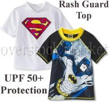 NEW BOYS CHARACTER RASH GUARD SWIM TOP! UPF 50+ PROTECTION! VARIETY