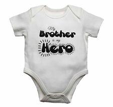 Mi hermano es mi héroe-Bebé Chalecos monos bebé crece Estampado Gráfico
