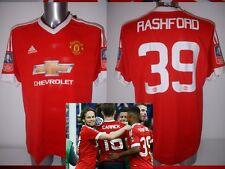 Manchester United Adidas BNWT Adulto Xl Varios FA Cup 2016 Balonpié Camiseta Casaca