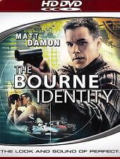 The Bourne Identity HD DVD SEALED Brand New Matt Damon