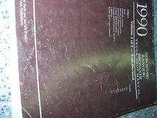 1990 FORD BRONCO II TRUCK Service Shop Repair Manual VOLUME 2 BODY ELECTRICAL