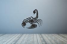 Scorpion Silhoutte escozor insecto Pared Calcomanía Adhesivo Arte de cualquier color o tamaño