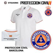 POLOS PROTECCION CIVIL Y EMERGENCIAS: BARCELONA
