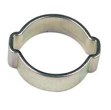 ACCIAIO DOLCE ZINCATO Clip Carburante Aria Acqua 3-5 mm doppio Orecchio Tubo Morsetto