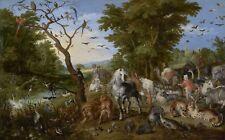 "Jan Brueghel: ""The Entry of the Animals into Noah's Ark"" (1613) — Fine Art Print"