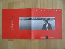 Bryan Adams   Into the Fire World Tour 1987  Konzertprogramm  Tourbook  XXL