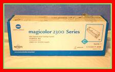 NEW GENUINE Konica Minolta Magicolor 2300 CAP 1710517-008 Toner Cartridge C CYAN