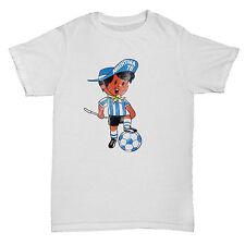 Argentina 78 inspirado Copa del Mundo Fútbol Camiseta Ventiladores De Hombre Culto Retro