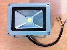 10W WATT LED SICUREZZA RIFLE Riflettore 50.000 ore Grigio Nuovo UK Venditore