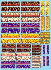 KO Propo-decalcomanie scelta di colori-Zen, minerali, Mardave, Schumacher, XRAY