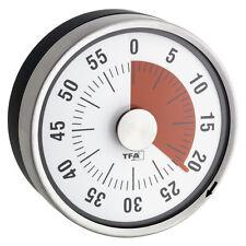 Temporizador Tfa 38.1028 Metal de Cocina Medidor Periodos Cortos Cronómetro