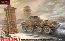SD.KFZ 234/1 (8-Rad) SCHWERER PANZERSPAHWAGEN (WEHRMACHT 1945 MKGS) 1/72 RODEN