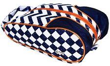Glove It Coastal Tile Design Ladies Golf Shoe Bag, Towel, Visor or Glove.