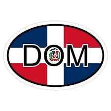Dominikanische Republik DOM - csd0248 Autoaufkleber KFZ Flagge