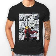 FULL METAL ALCHEMIST FRATELLANZA ELRIC FMA ANIME T-shirt T-shirt Tee Tutte le Taglie