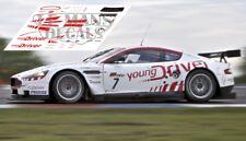 Calcas Aston Martin DBR9 FIA GT Brno 2010 1:32 1:43 1:24 1:18 64 87 slot decals