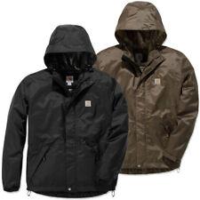 Carhartt Mens Dry Harbor Hooded Quick Dry Waterproof Jacket
