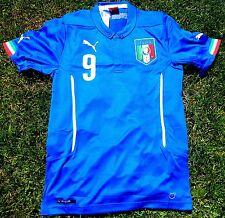 ITALIEN Trikot 9 Balotelli Jersey Camiseta Größe 116-176 NEU PUMA Kinder Italy