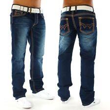 Herren True Jeans Hose destroyed Used regular Fit Alessandro