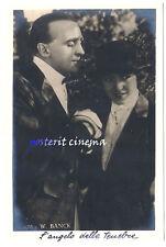 Vilma Banky THE DARK ANGEL foto-cartolina originale anni '20