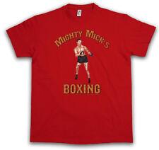 Mighty Mick'S BOXING i T-SHIRT GYM Rocky Robert Gunn PUGILE BALBOA Studio Club