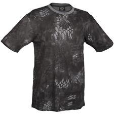 Mil-Tec T-Shirt Manica Corta Patrol Combattere Esercito Cotone Top Mandra Notte