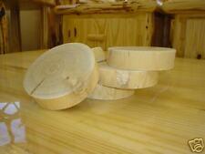 Log coasters, cedar log furniture, rustic