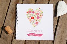 Hochzeit Planer Herz Design Personalisiert Notizbuch Verschiedene Größen