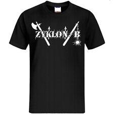 Zyklon B - T-SHIRT - OLD LOGO - ZYKLON BAND SHIRT,1349, Satyricon,Emperor