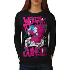 Welcome To Jungle Animal Women Long Sleeve T-shirt NEW   Wellcoda