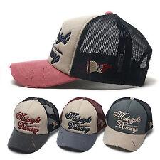 Unisex Mens Womens Midnight Dancing Mesh Baseball Cap Snapback Trucker Hats
