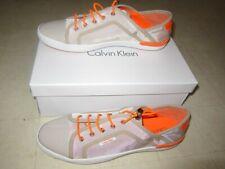 Calvin Klein Nia Sport Nylon Patent Suede Fashion Sneakers 7.5/10M-NWB$79