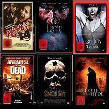 6 DVD SET FSK 18 SAMMLUNG SERIENKILLER + VAMPIRE + ZOMBIES - LIVING DEAD * NEU