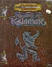 D&D3.5 KINGDOMS OF KALAMAR LIVRE DE BASE