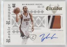 2014 Panini Spectra #115 Tyler Ennis Milwaukee Bucks Auto Rookie Basketball Card Verzamelingen