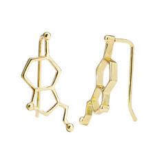 Chemical Molecular Ear Clip New Bi Best Earrings European And American Style