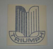 New TRIUMPH Logo Badge Decal Sticker TR6 TR7 TR8 Spitfire Dolomite Stag Sprint