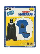 NEW Disney Star Wars Darth Vader UNDEROOS Men Underwear Shirt Briefs Set S M 2X