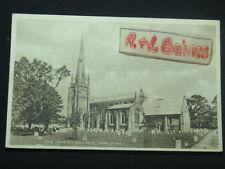 The Parish Church, Spalding, Lincolnshire, Valentine's Postcard