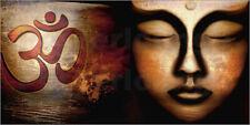 Poster Siddhartha with Om - Christine Ganz