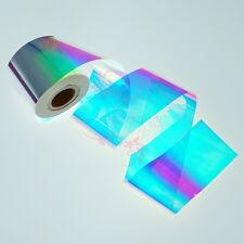 1 Roll Nail Art Manicure Shiny Aurora Broken Glass Mirror Effect Paper Foil Deco