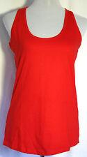 T-shirt Tanktop Damen B&C Baumwolle Rot Weiß Rosa